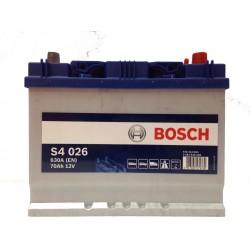 Аккумулятор Bosch S4 Asia 026 570 412 063