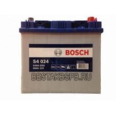 Аккумулятор Bosch S4 024 Asia 560 410 054