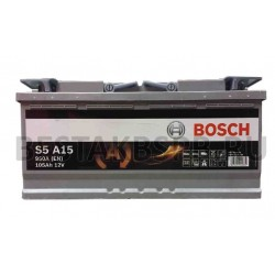 Аккумулятор Bosch S5 AGM A15 605 901 095 (S6)