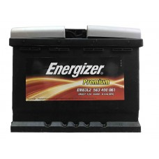 Аккумулятор Energizer Premium 63 ah EM63L2