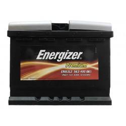 Аккумулятор автомобильный Energizer Premium 63 ah EM63L2
