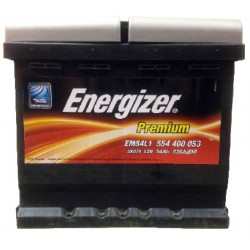 Аккумулятор автомобильный Energizer Premium 54 А/ч EM54L1