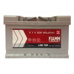 Аккумулятор FIAMM TITANIUM PRO L3B 75P