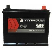 Аккумулятор FIAMM BLACK TITANIUM D26 75