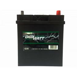 Аккумулятор автомобильный Gigawatt G35 (55B24L)