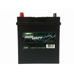 Аккумулятор автомобильный Gigawatt G35L (55B24R)