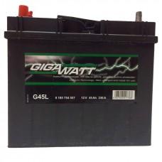 Аккумулятор Gigawatt G45L (60B24R)