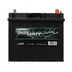 Аккумулятор автомобильный Gigawatt G45R (60B24L)