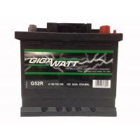 Аккумулятор автомобильный Gigawatt G52R