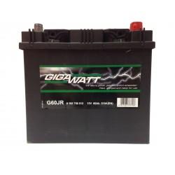 Аккумулятор автомобильный Gigawatt G60JL (75D23R)