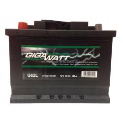 Аккумулятор Gigawatt G62L