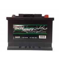 Аккумулятор автомобильный Gigawatt G62R