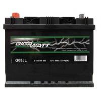 Аккумулятор автомобильный Gigawatt G68JL (80D23R)