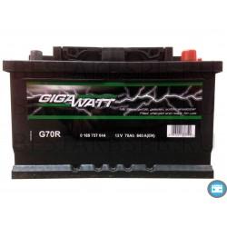 Аккумулятор автомобильный Gigawatt G68R