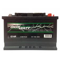 Аккумулятор Gigawatt G74R