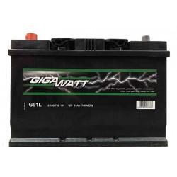 Аккумулятор Gigawatt G91JL (110D26R)