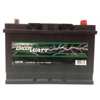 Аккумулятор автомобильный Gigawatt G91JR (110D26L)
