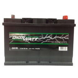 Аккумулятор Gigawatt G91JR (110D26L)