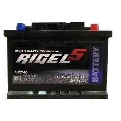Аккумулятор RIEGEL 60 А/ч 520 A