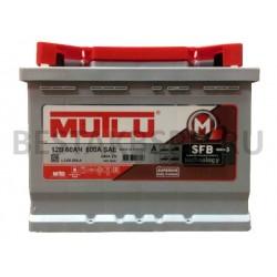 Аккумулятор автомобильный MUTLU 63 А/ч L2.63.060.A