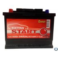 Аккумулятор Extra Start 60 а/ч 6СТ 60 L