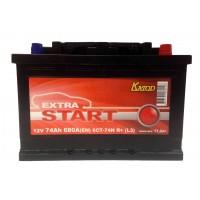 Аккумулятор Extra Start 74 а/ч 6СТ 74 R