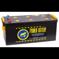 Аккумулятор грузовой Тюмень Стандарт 190 а/ч R