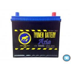 Аккумулятор автомобильный Тюмень Asia 60 а/ч r