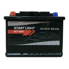 Аккумулятор START LIGHT 60L 430А