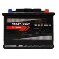 Аккумулятор автомобильный START LIGHT 60R 430А
