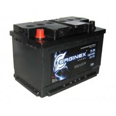 Аккумулятор Erginex 75 а/ч 6СТ 75R