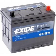 Автомобильный аккумулятор Exide Premium EA754