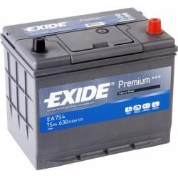 Аккумулятор Exide Premium EA754