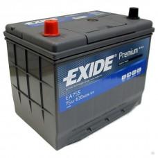 Автомобильный аккумулятор Exide Premium EA755