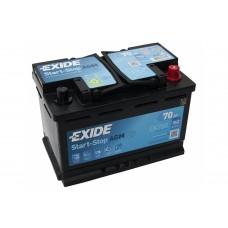 Автомобильный аккумулятор Exide EK700 AGM