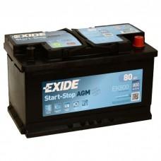 Автомобильный аккумулятор Exide EK800 AGM