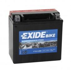 Мото аккумулятор Exide AGM 12-14