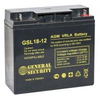 Аккумулятор для ИБП General Security 18-12