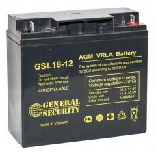 Аккумулятор для ИБП Аккумулятор для ИБП General Security 18-12