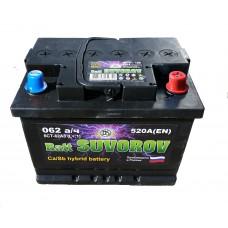 Автомобильный аккумулятор Batt SUVOROV 62.0
