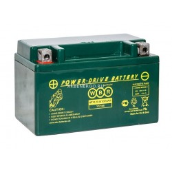 Мото аккумулятор WBR MT12-10-A
