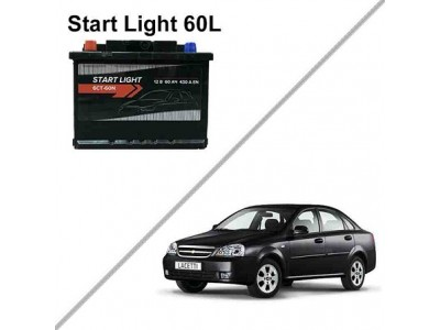 Аккумулятор на Chevrolet Lacetti — Start Light 60L