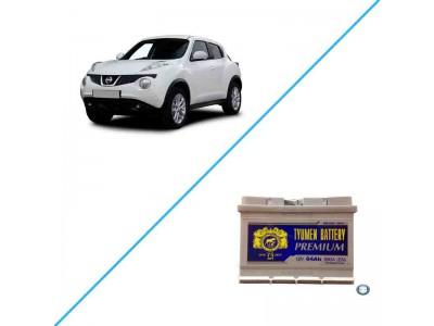 Лучший аккумулятор для Nissan Juke – Tyumen Battery 64R