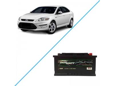 Лучший аккумулятор на Ford Mondeo IV — Gigawatt G80R