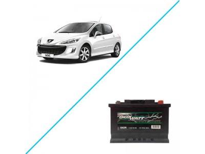 Лучший аккумулятор на Peugeot 308 — Gigawatt G62R