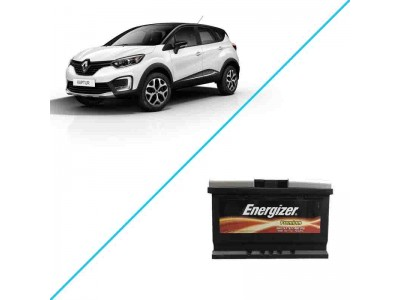Лучший аккумулятор на Renault Kaptur I — Energizer Plus 74 ah EP74L3