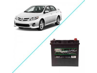Лучший аккумулятор на Toyota Corolla X – Gigawatt G60JR