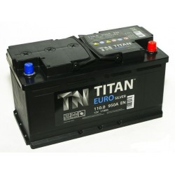 Аккумулятор TITAN 100.0 ARCTIC Silver
