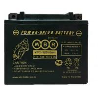 Аккумулятор мото WBR YTX14-BS, YTX12-BS AGM