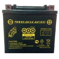 Аккумулятор мото WBR YTX5L-BS, YTZ7S, YT5L-BS AGM